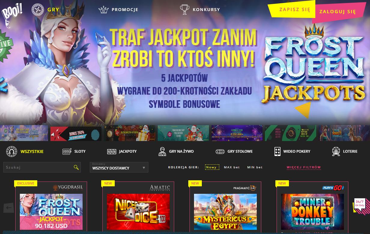 Booi Casino polska